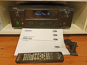 Slightly Damaged Denon AVR-791 multi zone 7.1 surround receiver Matraville Eastern Suburbs Preview