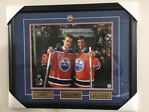 Mcdavid Gretzky signed picture