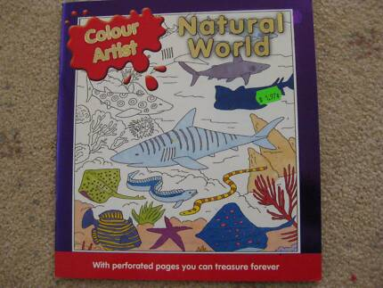 """For adults or children """"Colour Artist"""" colouring books"""
