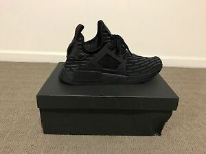 Brand New Adidas NMD XR1 Core Black, Red  100% Authentic US10 Ipswich Ipswich City Preview