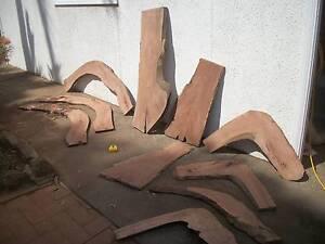 Hardwood timber slabs seasoned and sanded greygum redgum ironbark Panania Bankstown Area Preview