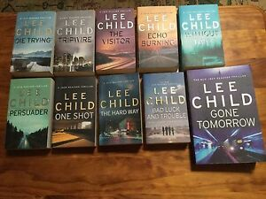 Lee Child novels Hawthorn Mitcham Area Preview