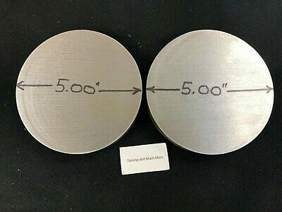 5.00 Diameter Steel 4140 Hr Ht 2 Pcs