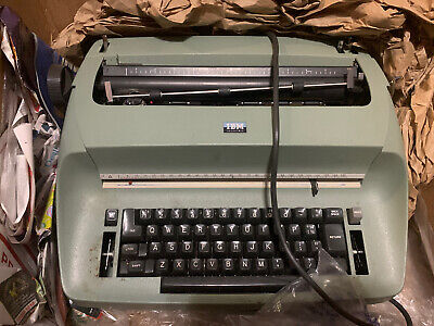Ibm Selectric I Electric Typewriter Olive Green Not Working Parts Only As-is