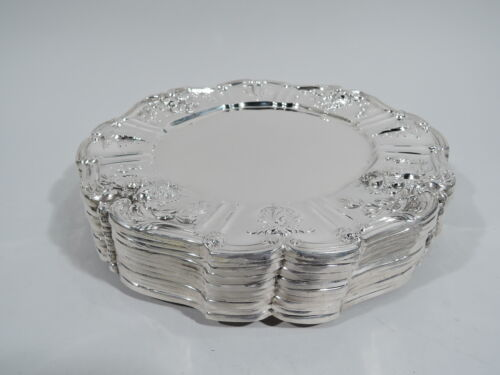 Reed & Barton Francis I Dinner Plates - X567 - American Sterling Silver