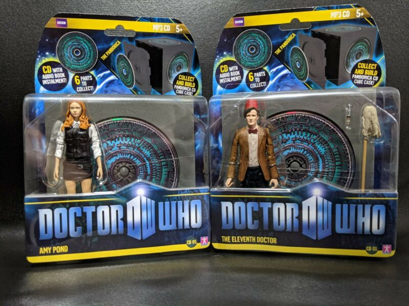 11th Doctor Who w/ Fez And Amy Pond Figures