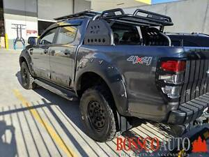KQD Design Matte Black Fender Flare Kit For Ford Ranger PX MK1 MK2 Prestons Liverpool Area Preview