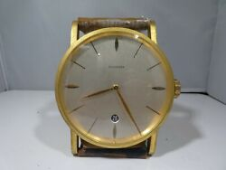 VINTAGE BUCHERER CLOCK IN THE FORM OF AN OVER SIZED WATCH WORKING
