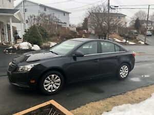 2011 Chevy Cruze 134km 6-speed manual