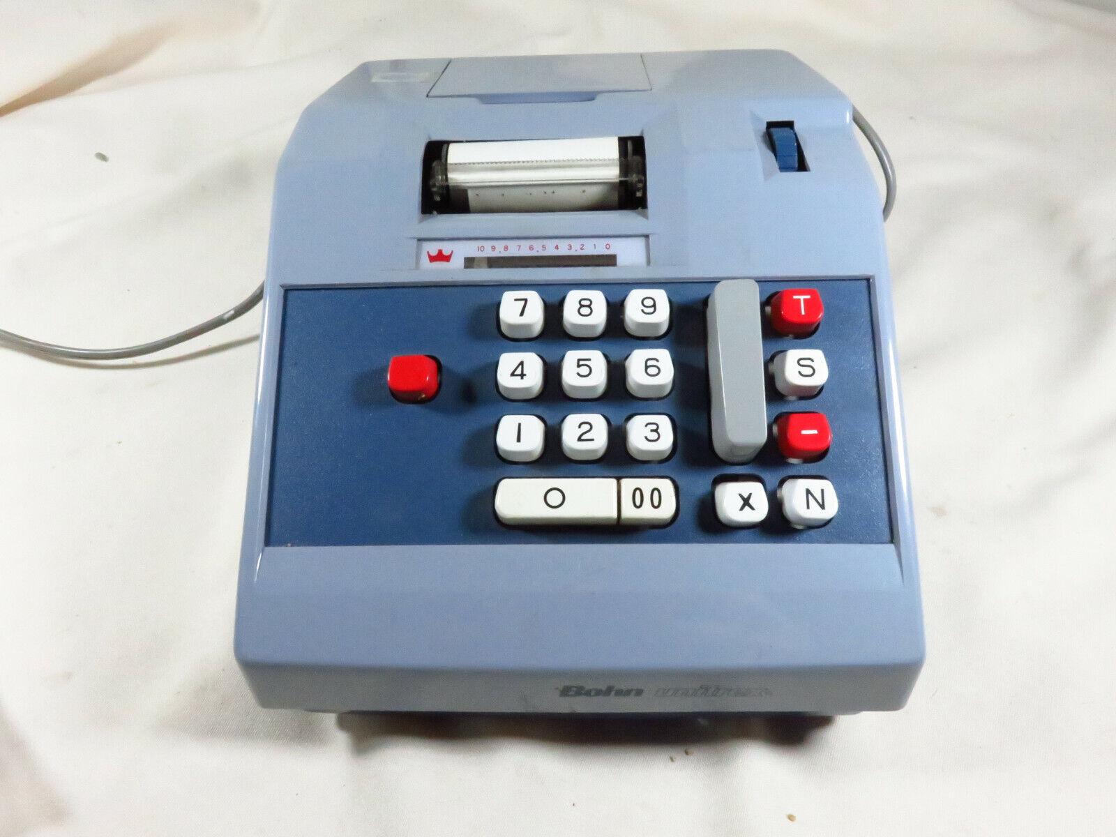 Vintage Bohn Unitrex Model M-3 Electronic Adding Machine for parts not working
