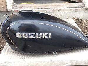 80s Suzuki 300gs fuel tank