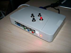 Amiga Scandoubler Rgb Sich Vga 500 600 1200 1500 2000 3000 4000 Cdtv Cd32