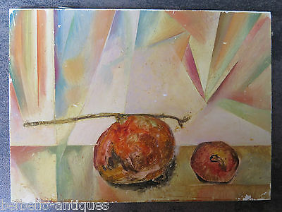 Painting Modern Small Size Painting To oil Nature Still With Peaches p3