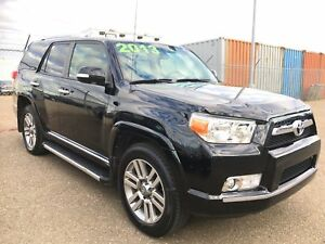 2013 Toyota 4Runner LIMITED, 7 PASS, ONE OWNER, BLK ON BLK