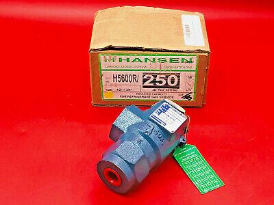 Kunkle 6010DC 1//2 x 3//4 set 40 psi AIR//GAS