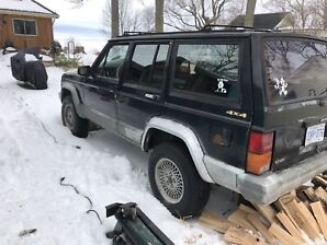 JEEP CHEROKEE XJ 205kms Safetied