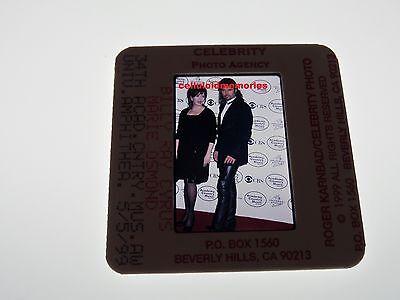 Original Photo 35mm Slide Billy Ray Cyrus & Marie Osmond # 12