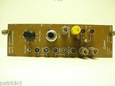 Ortec Egg Nim Computer Module Model Gg200n Gate Generator Module Board