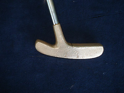 """Otey Crisman The Silver Touch- Nickel Silver Putter 35"""" """"VERY GOOD"""""""