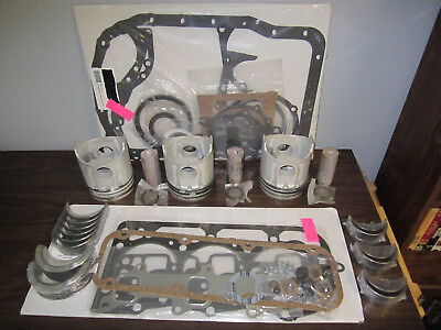 Ford Tractor Engine Kit 175 Diesel 335-3610 3cyl