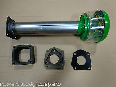 Air Cleaner Base Stack Tube For John Deere 730 With Precleaner And Spacer Block