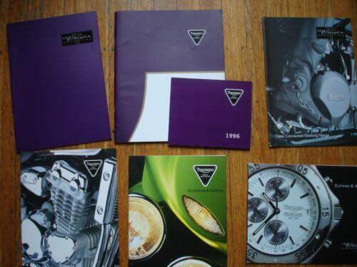 1996 Triumph  Motorcycle Factory Sales Brochure