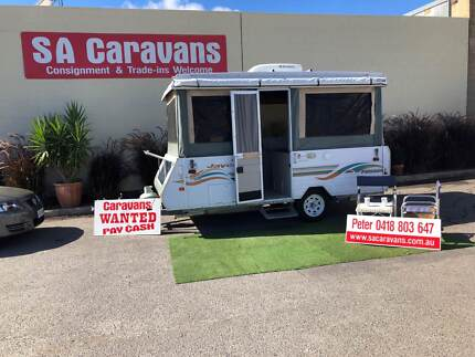JAYCO PENGUIN CAMPER with AIR CONDITIONING Hampstead Gardens Port Adelaide Area Preview