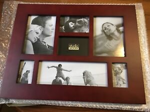 11x15 collage wood frame, cherry