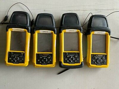 Lot Of 4 Tds Recon Data Collector Handheld Pocket Pc W Battery Partsrepair