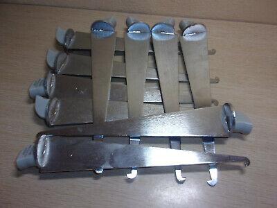 Set Of 10 Metal Peg Board Wall Hooks