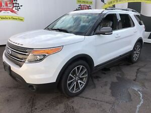 2015 Ford Explorer XLT, Navigation, Leather, 3rd Row Seating, 4x