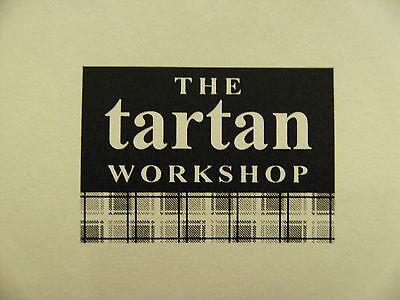 the tartan workshop