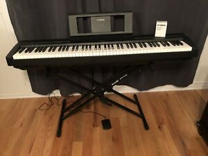 Yamaha P-45 88-Key Contemporary Digital Piano, Black