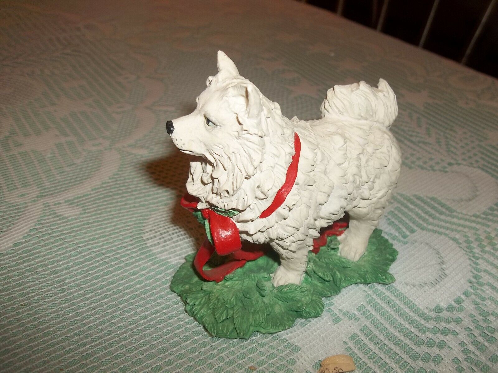 Tom Rubel Silver Deer Christmas Animals Dog ...