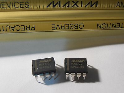 2pcs Max772cpa 15v Or Adjustable Low Iq Step Up Dc-dc Controller Ic