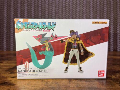 Pokemon Scale World Leon & Dragapult Figure Galar region 1/20 scale BANDAI JAPAN