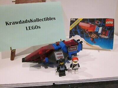 VTG LEGO SPACE POLICE 6886 GALACTIC PEACE KEEPER COMPLETE W/ MINIFIGS & MANUAL