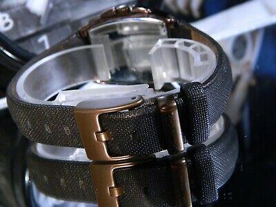 Women s Kenneth Cole New York Copper Case Chocolate Metallic Dial Gemmed Watch - $32.47