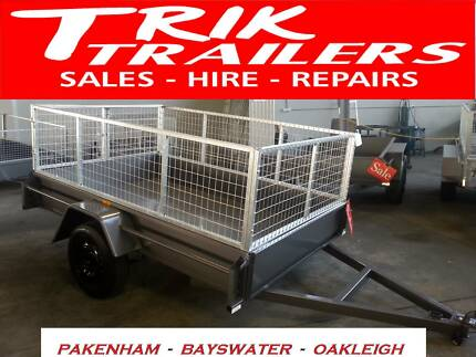 8x5 box trailer and cage HEAVY DUTY Pakenham Cardinia Area Preview