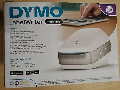 Dymo Labelwriter Wireless Label Printer - 2002150 White Color Wifi