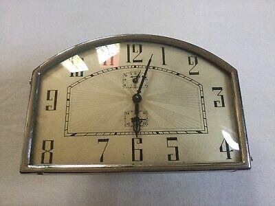 Vintage Metal Alarm Clock Working Order