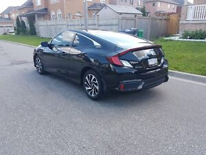 Honda Civic 2016(Coupe). Lease Takeover.