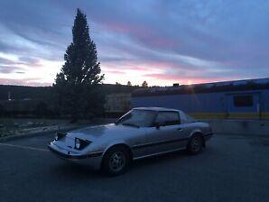 1983 Mazda Rx7 GSL 12A Wankel (Second owner)