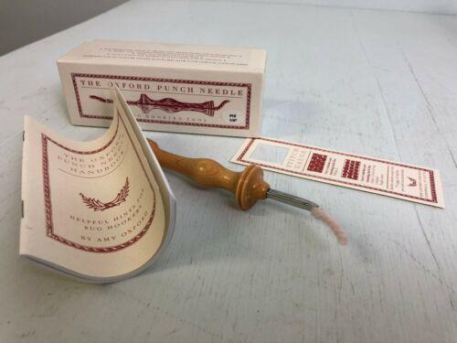 Oxford Punch Needle size 10 for yarn or 6,7,& 8 cut wool strips NIB