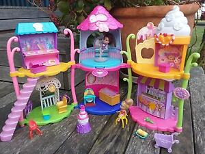 Barbie Figurines Doll House Shellharbour Shellharbour Area Preview