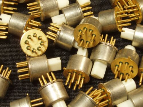 10 Pieces: Miniature 7-Position Rotary Selector Switch DIY Arduino NOS Gold