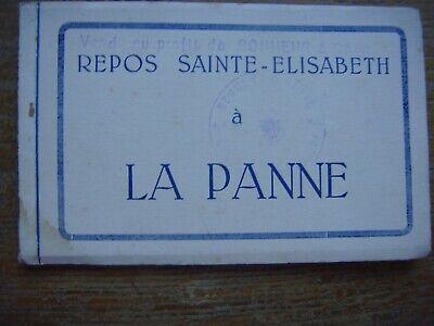 Carnet de 10 cartes de DE PANNE - LA PANNE --- Repos Sainte Elisabeth