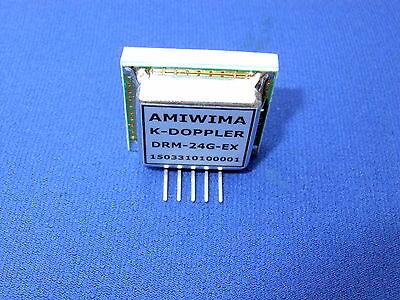Microwave Doppler Transceiver 24 Ghz Lna Fmcw Iq K-band Antenna Vco Long Range
