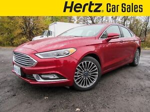 2017 Ford Fusion SE AWD, MOONROOF, NAVIGATION