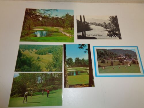 Vintage North Carolina Unused Scorecards & Postcards Maggie Valley Wolf Laurel